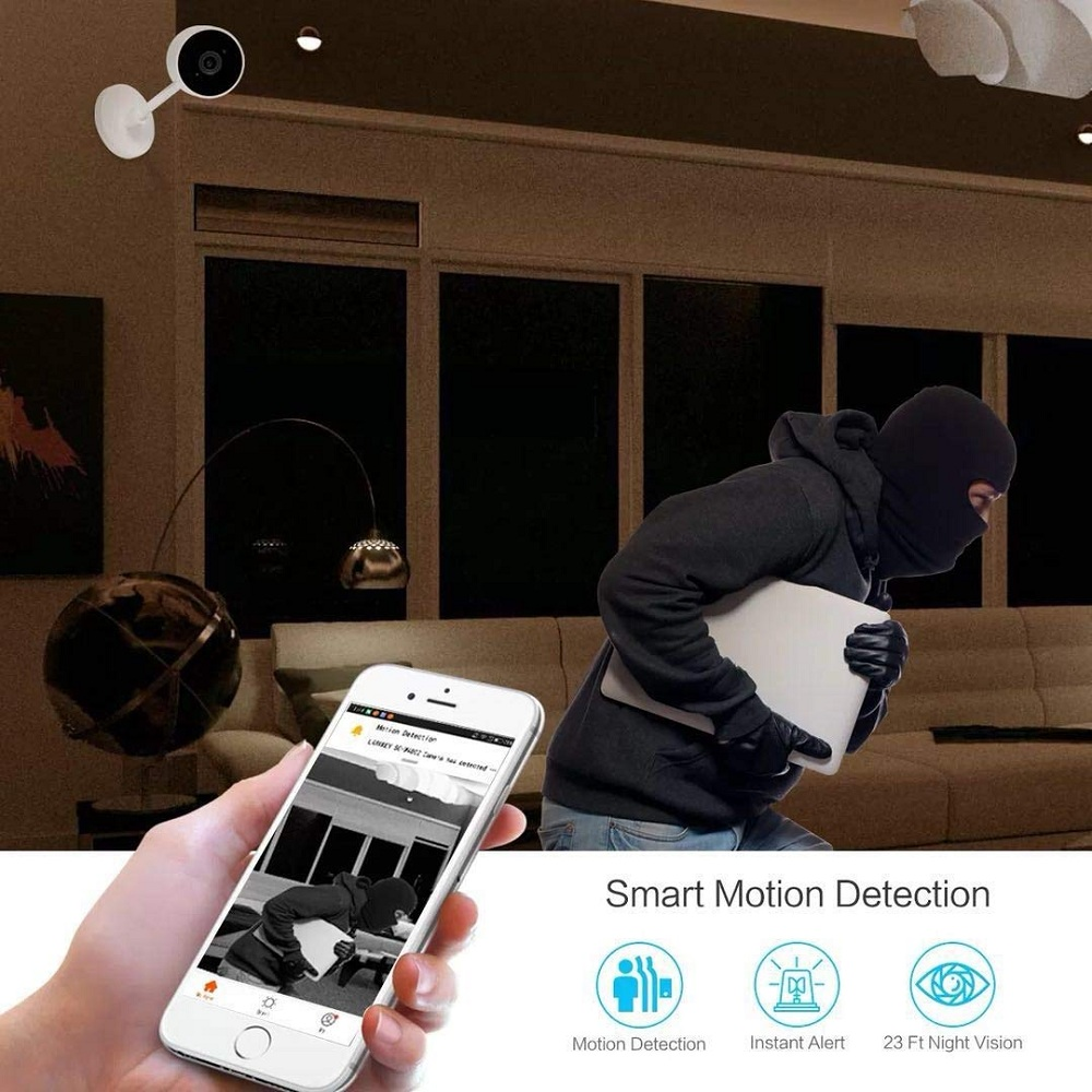 Smart Home Security Indoor WiFi Wireless Video Baby Monitor IP Camera