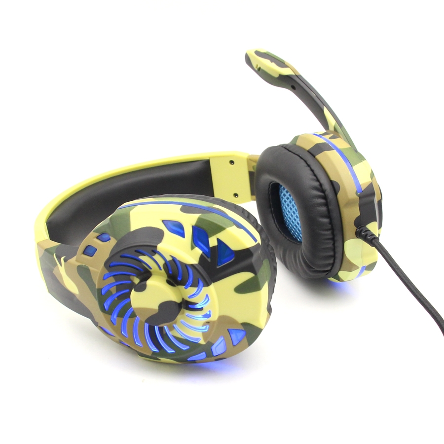 3.5mm Gaming Headset MIC Headphones For PC Laptop PS3 PS4 Slim Xbox One Switch