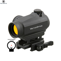 Vector Optics Maverick GenII 1x22 Tactical Guns Weapons Army Red Dot Sight Scope with QD Mount for Night Vision Rifle Hunting