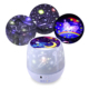 ANJIE Twelve constellations baby led night light projector lamps universe star master toy star projector