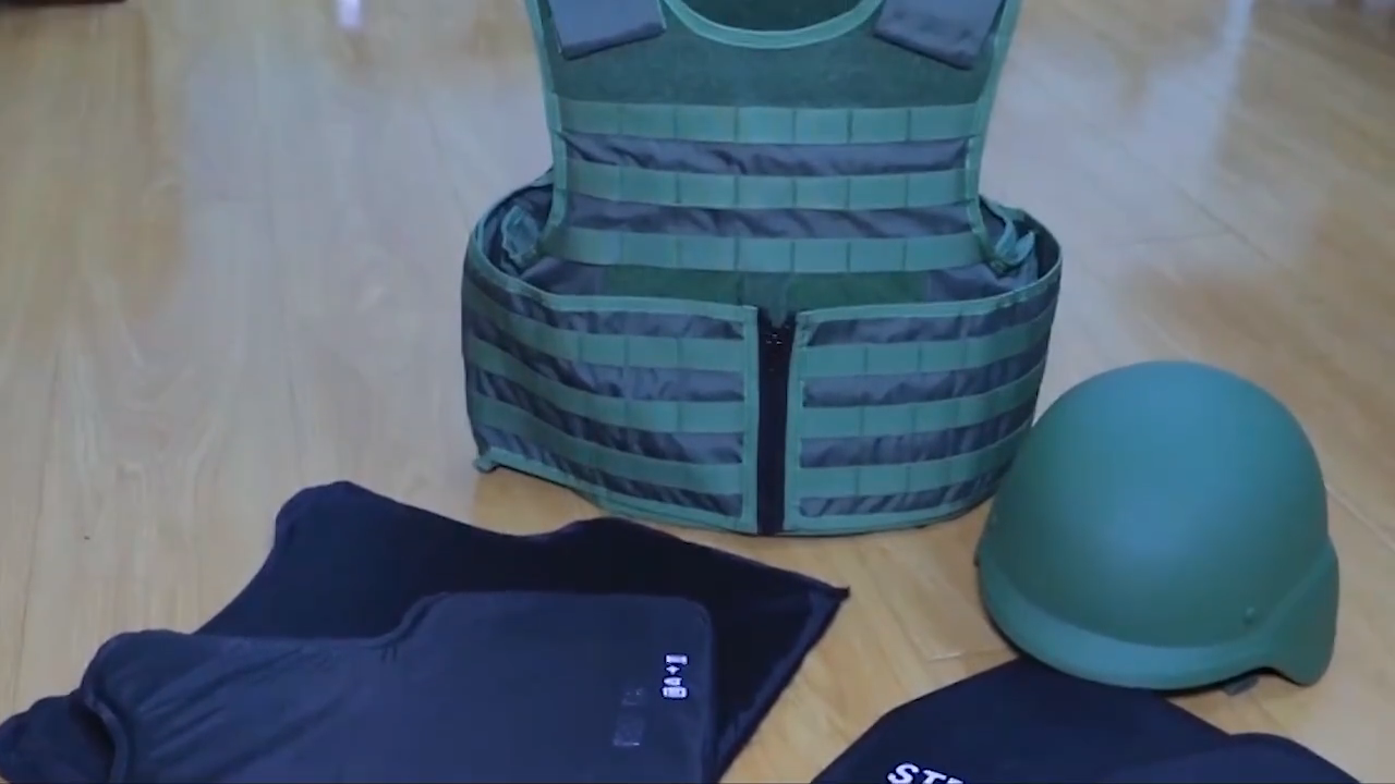 Kelin Hot Product Tactical Body Armor Met Molle Systeem