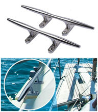 Marine Perlengkapan Stainless Steel <span class=keywords><strong>Cleat</strong></span>