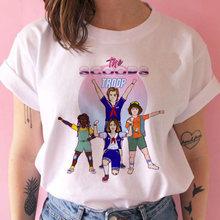 Футболка Stranger Things season 3, женская футболка с перевернутым дном, футболка Eleven Woman Graphic grunge, футболка femme, футболка, забавная одежда(China)
