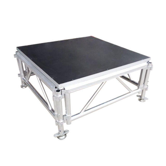 Customized <strong>stage</strong> podium easy install aluminum frame height adjustable <strong>stage</strong>/podium concert <strong>stage</strong> platform