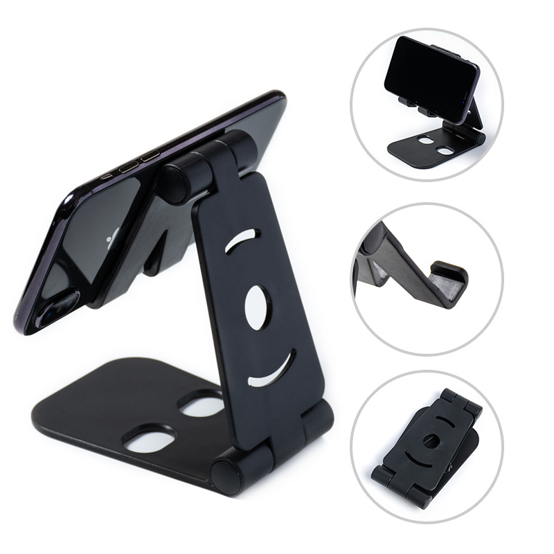 Wholesale cheap foldable universal plastic phone holder for cellphone