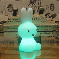 table top led light rabbit lamp for kids room