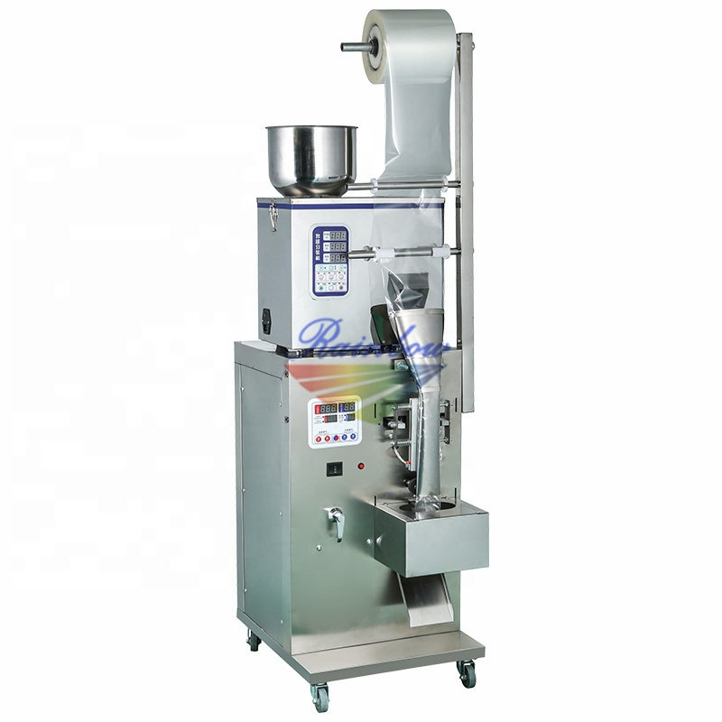 Small production automatic granule packing machine