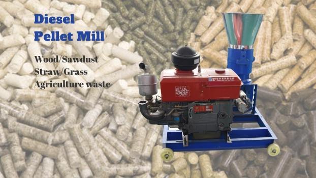 Pelet Wood Pellets Mill Pellet Machine Diesel