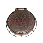 customized DI Round En124 C250 D400 Ductile Iron Gray Iron Rectangle Manhole Cover with Frame