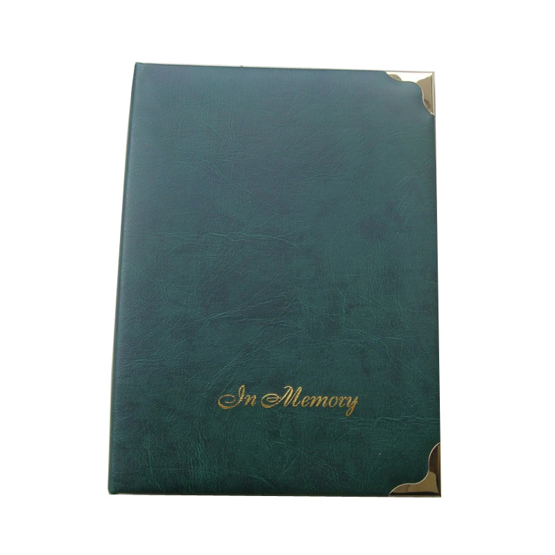 High quality velvet cover wedding signature layflat photo album