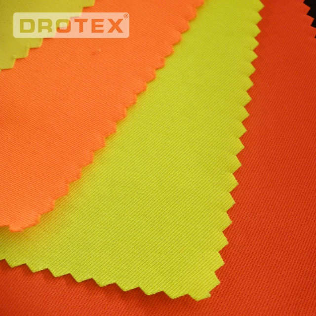 Inherent Non Flammable Fabric 200gsm Rip Stop Flame Resistant Aramid Fabric