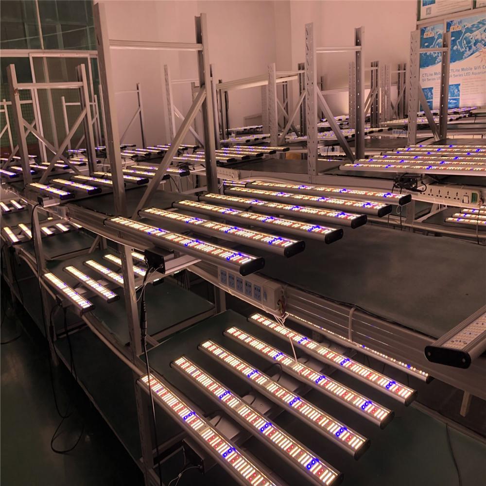 Multi-Luzes Escurecimento Samsung lm561C 2.6-2.8 Umol/J Quantum Placa Vertical Agricultura 720w Espectro Completo UV IR Bar LEVOU Cresce A Luz