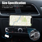 Top Selling Strong Magnetic Premium Aluminum Alloys CD Slot Car Mount Phone Holder
