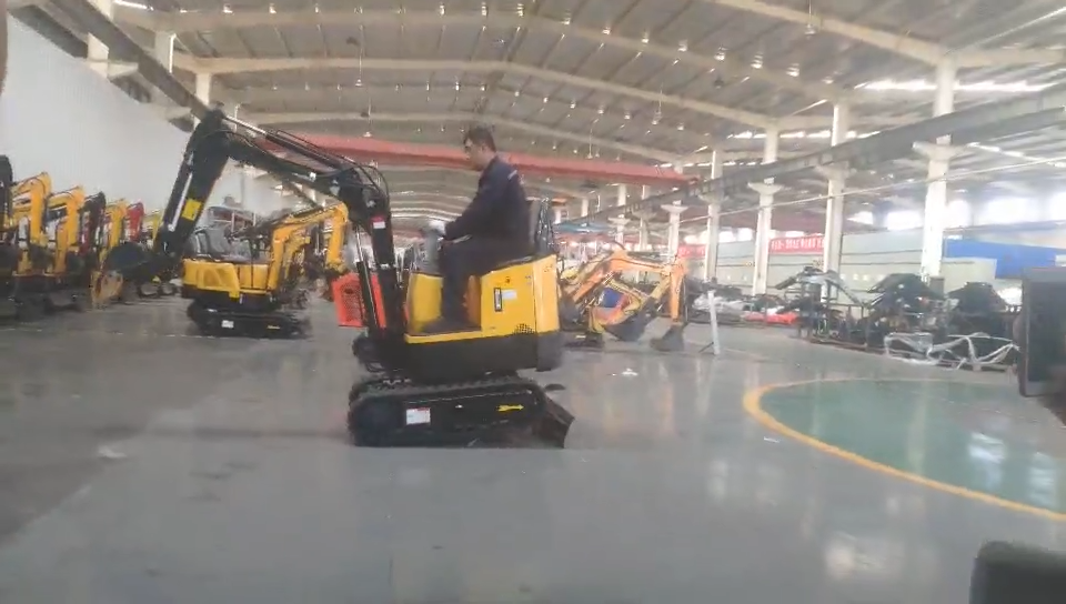 Value for money China New 1.0 Ton mini and flexible small digger hydraulic excavator