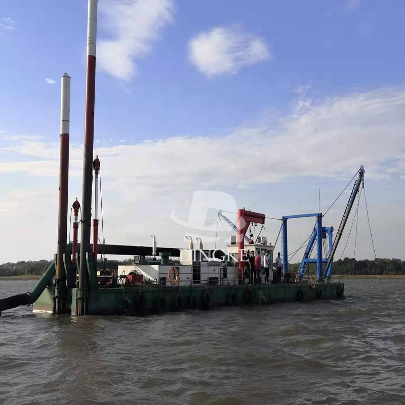 river sand pumping machine/ river dredge for sale with cummins engine