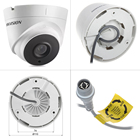 Hitosino Hik OEM vision 4 4ch 8ch 16 ch Channel 5MP Surveillance Outdoor Set CCTV DVR Turbo Kit Home Security Camera CCTV System