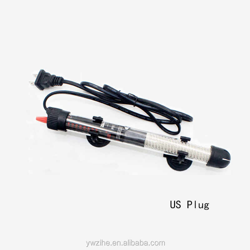 Fish Tank Heating Rod Adjustable Temperature Thermostat Heater Rod Aquarium Water Heat Automatic Constant Power Saving Heater