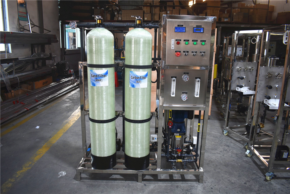product-Automatic valve RO Reverse Osmosis Water Purification Equipment-Ocpuritech-img