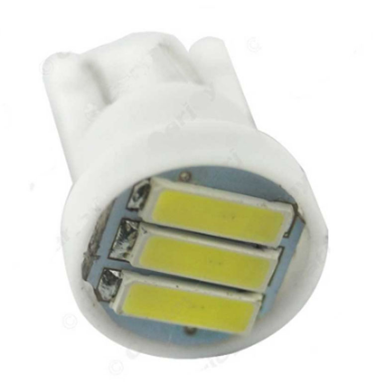 T10 LED Clearance Lights 7020 3SMD LED W5W Led replacement lamp auto car front interior light bulbs DC12V