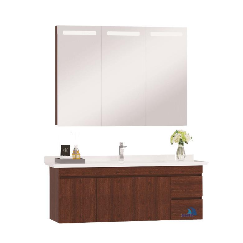 Алюминиевый современная роскошная ванная комната настенный шкаф мебель дизайн
