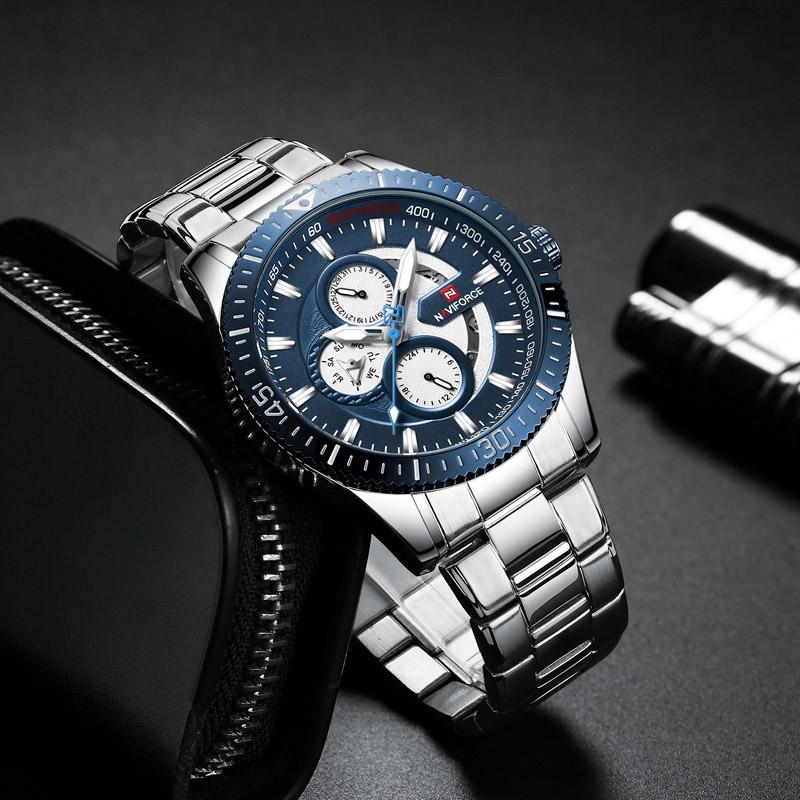 Naviforce 9140 Quartz Watch 3