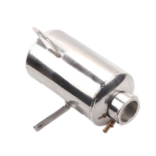 Universal Alloy Polished water tank & oil catch can 1.5L Round Water Catch Can Fuel Tank