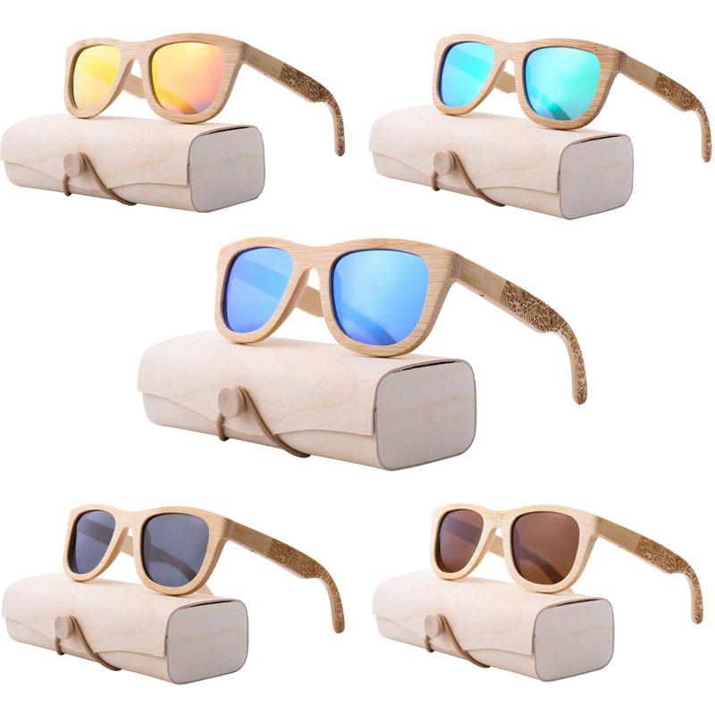 Grossiste lunettes de soleil en bois de bambou Acheter les