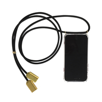 new arrivals amazon smartphone crossbody necklace usb charging cable mobile cell phone handy case strap
