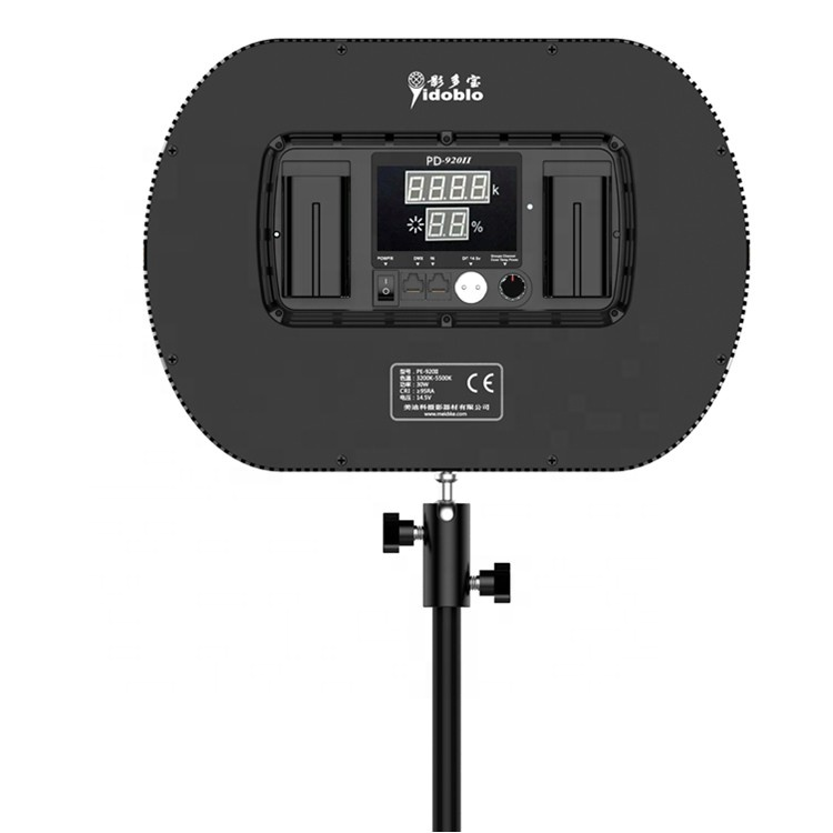 Yidoblo PD-920II  professional photographic light with remote control super thin video light with CE