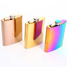 hot selling products 8oz stainless steel whiskey alcohol liquor hip flask portable whiskey pocket hip flask
