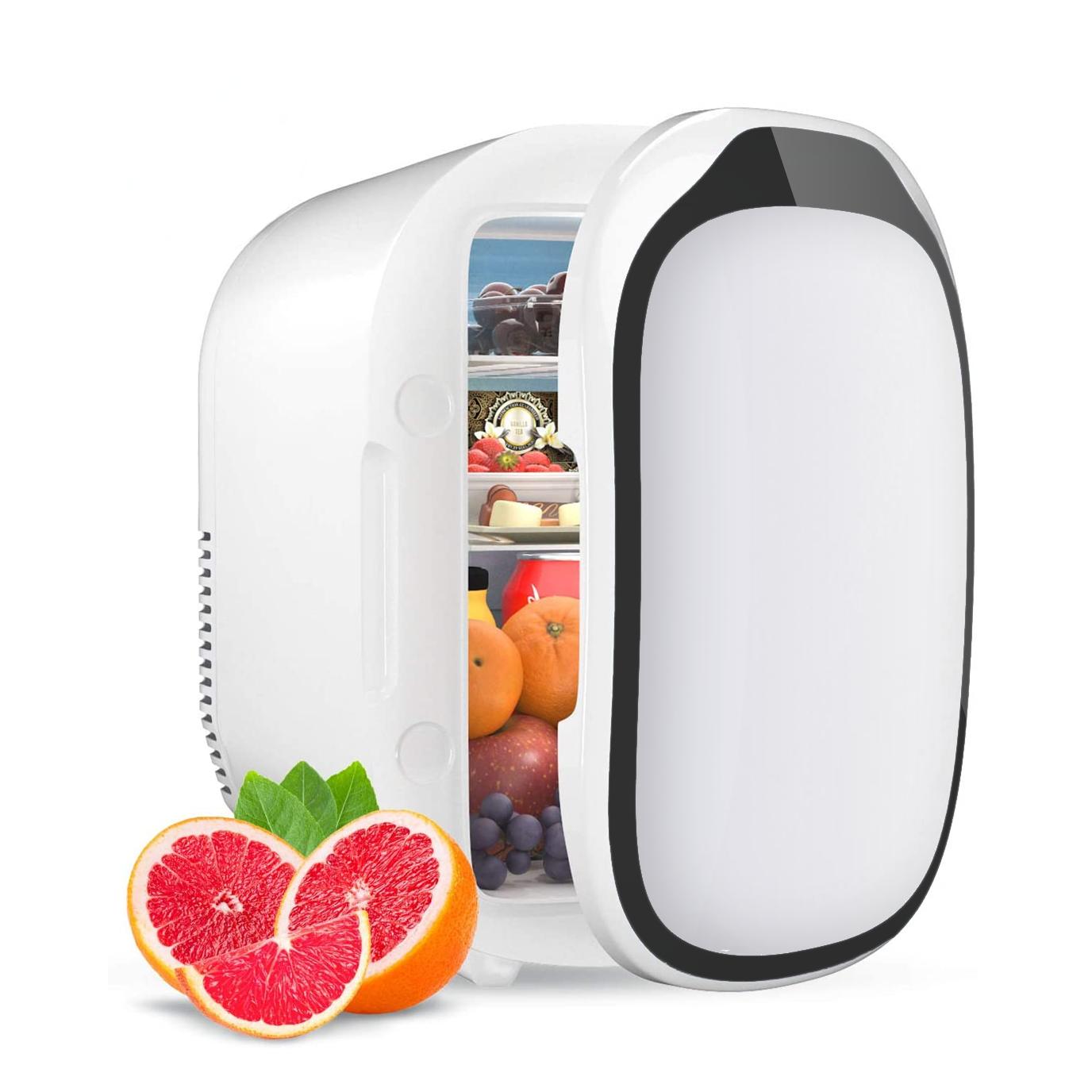 ขนาดเล็กบำรุงผิวตู้เย็นแบบพกพาตู้เย็นมินิเครื่องสำอางค์ตู้แช่เย็นรถยนต์แม่เหล็กความงามMiniตู้เย็น