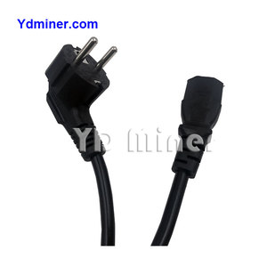 fast shipping power cables for miner with machine s9 power cord 3x1.5MM