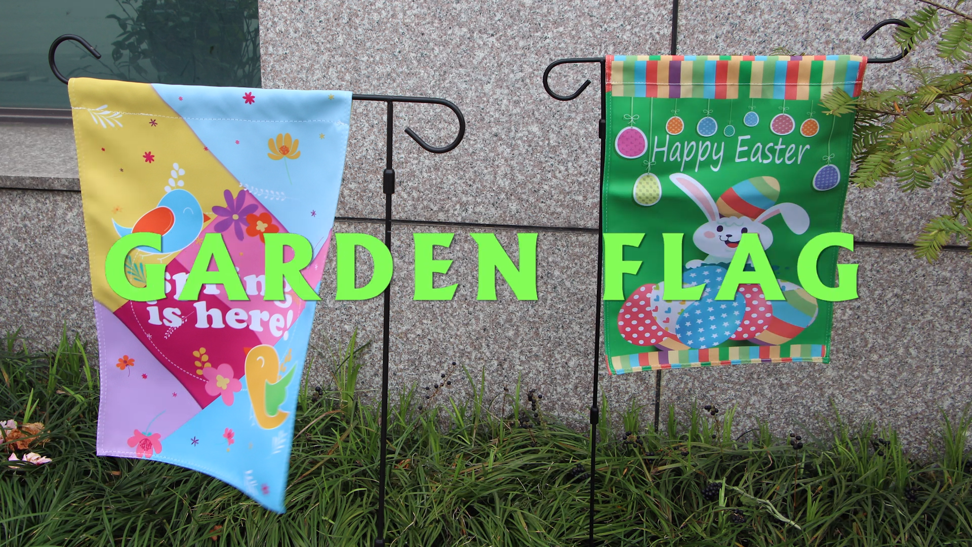 Garden Flag For Festival With Free Design Service