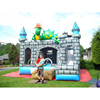 Commercial inflatable large jumping castle, inflatable snowman bounce house for sale