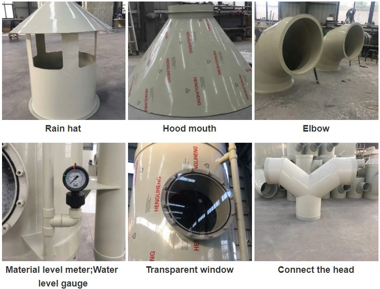 Dust Removal High Efficiency Spray Tower/desulfurization