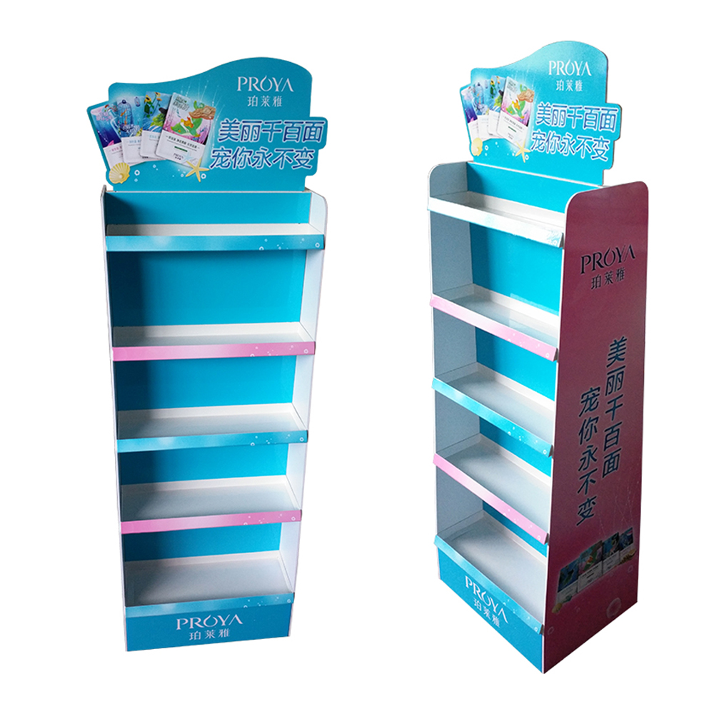 POP Cartone Prodotto Shipper Display, Cartone Personalizzato Display Mensola Rack, Cartone di Carta Cartone Piano Display Stand