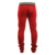 Red Side Stripe Track Pants Men Custom Printed Logo Plain Slim Fit Jogger Pants