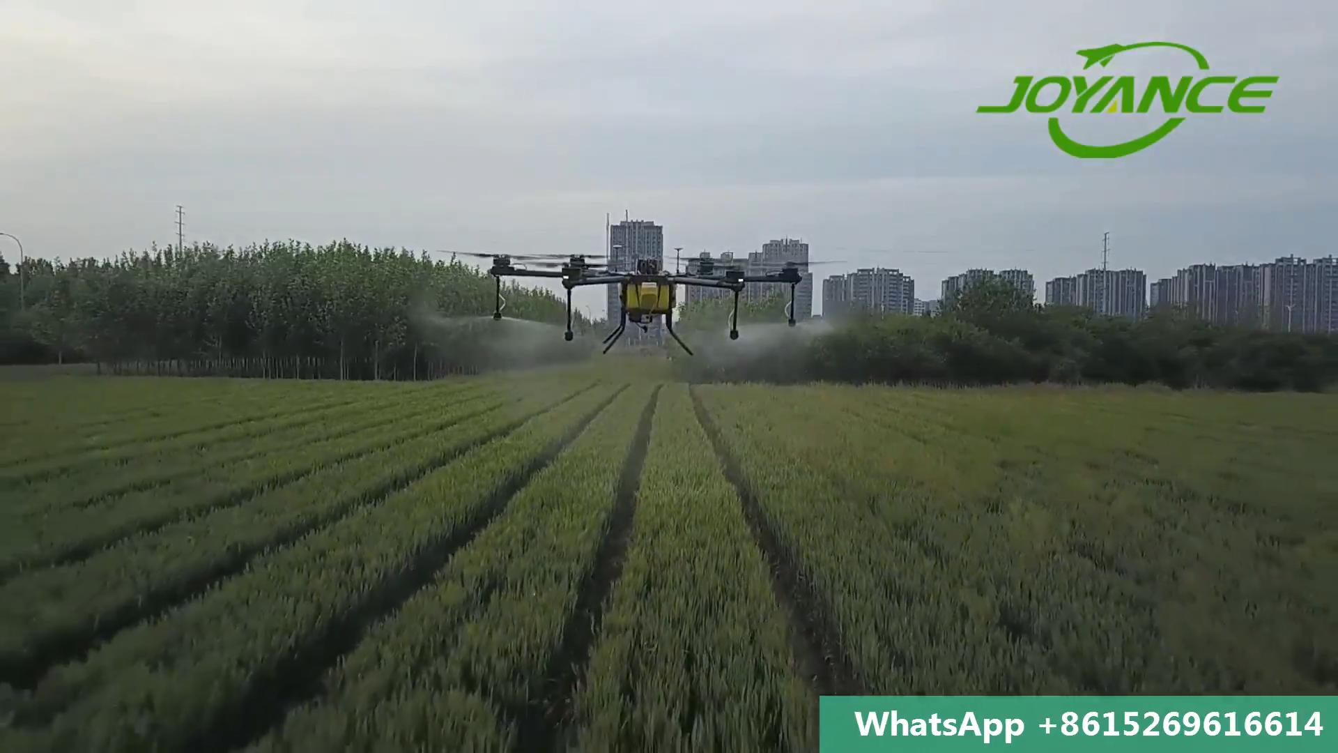 2019 Tinggi Efisien 20 Liter UAV Pertanian Drone Tanaman Sprayer/Pestisida Helikopter/Pesawat Di Pertanian