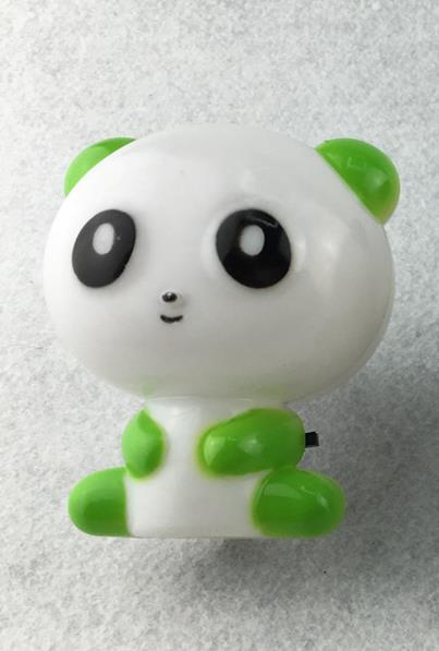 Holiday Gift OEM  GL-W008 plug in night light Cute Panda Cartoon animal kids Bed Desk Table decoration Lamp