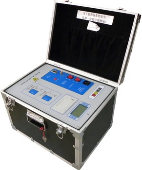 HCJS 0.5-10Kv Automatic Tan Delta Tester