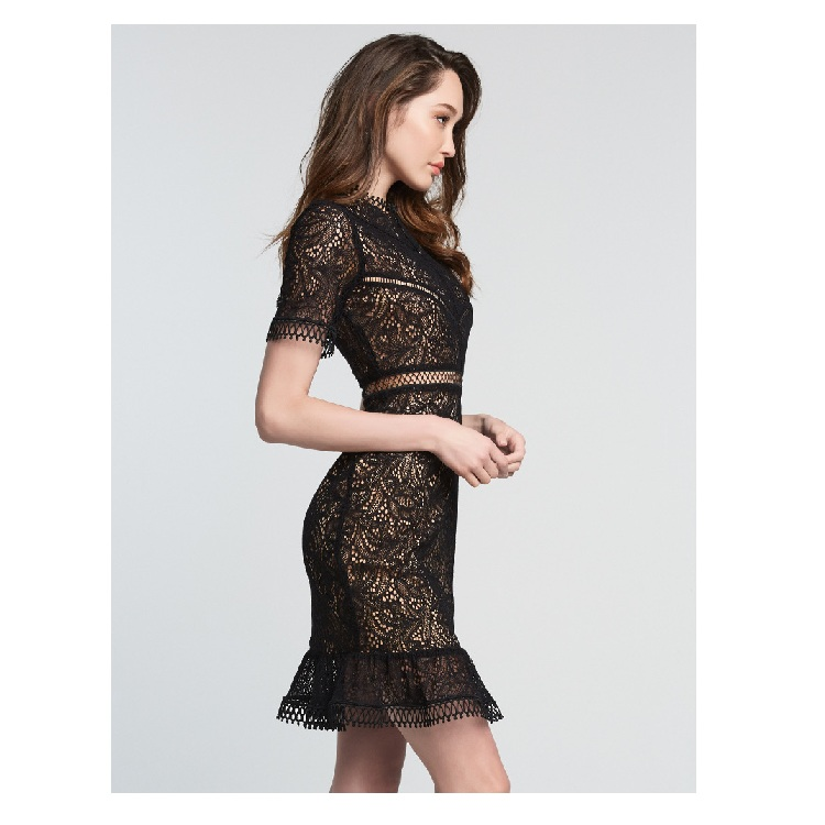 2020 OEM High quality <strong>women</strong> casual dresses party bodycon dresses <strong>lace</strong> dress <strong>clothing</strong> factories in china