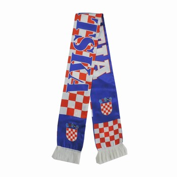 wholesale hot selling digital printing Croatia scarf fabric
