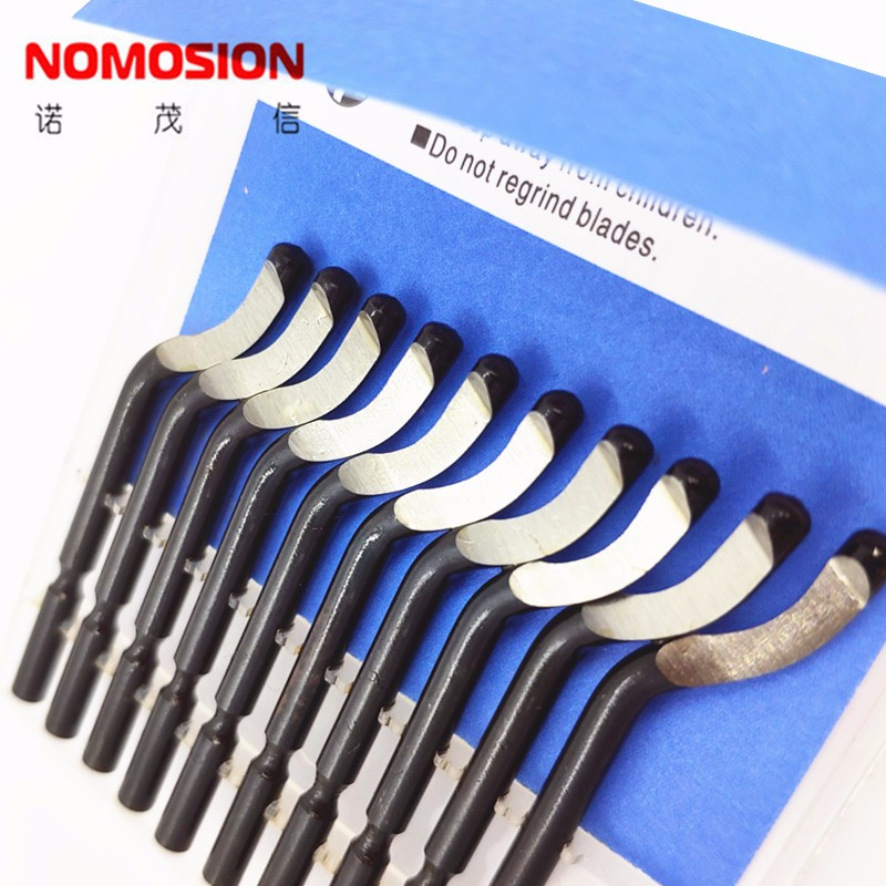 10pcs/lot Various models Blades <strong>Hand</strong> Deburring <strong>Tool</strong> for metal and plastic deburring