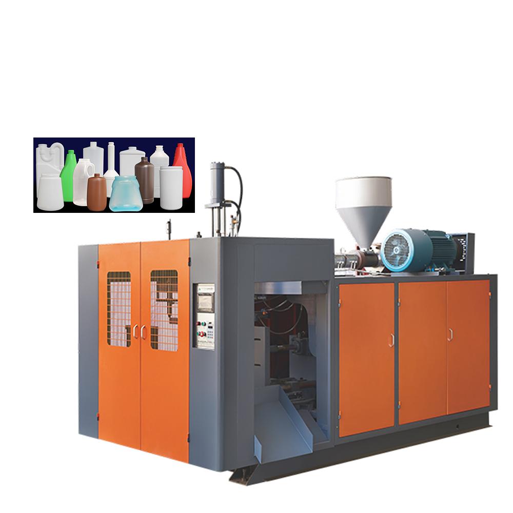 Máquina de extrusión continua de película de pe, proceso de moldeo por soplado de coextrusión