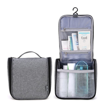 Travelsky Custom folding travel large capacity makeup toiletry cosmetic organizer travel wash bag