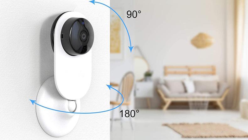 אבטחת בית מצלמה tuya חכם הד להראות/google בית תמיכת 1080p HD P2P אלחוטי טלוויזיה במעגל סגור מקורה wifi מיני IP מצלמה