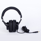 Metal Headphones Wholesaler Custom Quality Metal Wired Over-ear Headset Professional Monitor DJ Headphones For Mixer CDJ Studio Recording