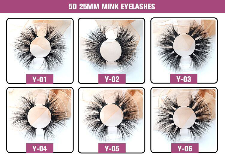 Wholesale Real Siberian Mink Strip Lashes Private Label Packaging 3D Mink Eyelashes