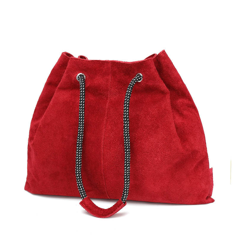 product-Women Vintage Genuine Leather BagSoft Cowhide Shoulder Tassels Bag-GF bags-img-1