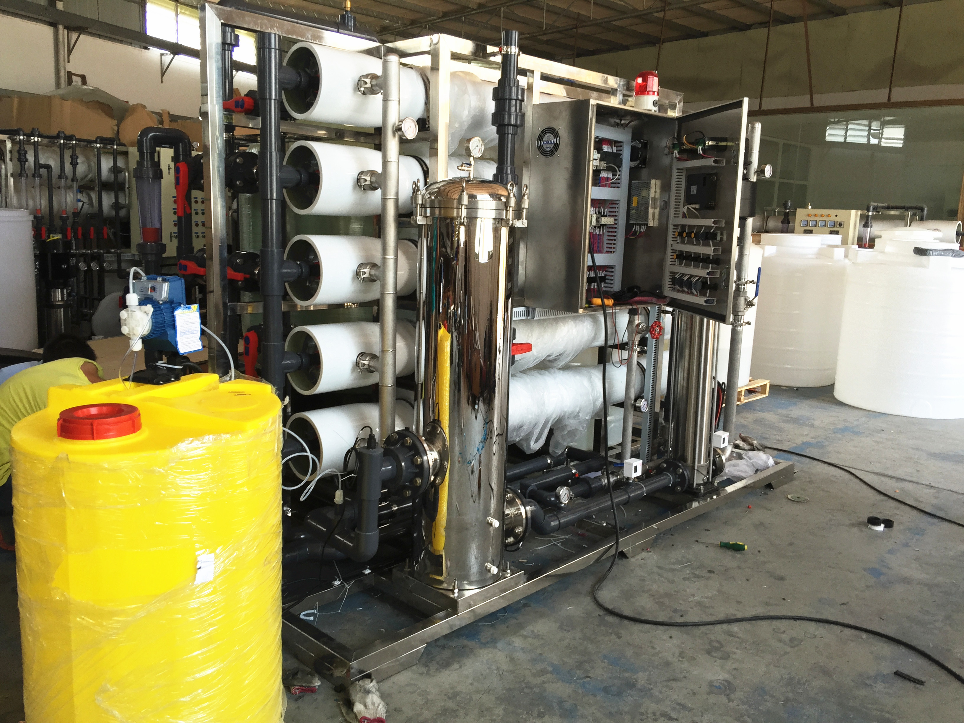 Massive Water Treatment 10000 LPH  ro water plant price for 10000 liter